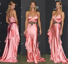 Rosie Huntington-Whiteley at the 2016 LACMA Art + Film Gala held at the Los Angeles County Museum of Art in California on October 30, 2016