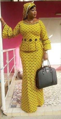 I love african fashion African Fashion Ankara, Ghanaian Fashion, Latest African Fashion Dresses, African Dresses For Women, African Print Dresses, African Print Fashion, Africa Fashion, African Attire, African Wear