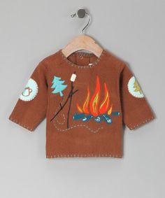 Take a look at this Chocolate Yosemite Fleece Sweatshirt by Zutano on #zulily today!