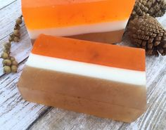 A personal favorite from my Etsy shop https://www.etsy.com/listing/476412177/pumpkin-spice-handmade-soap