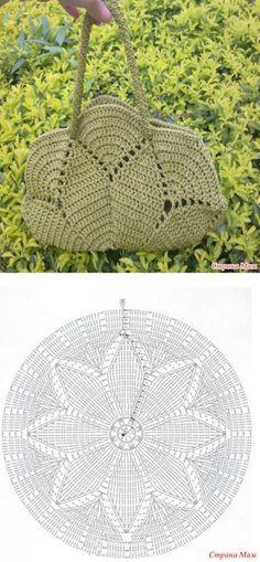 Crochet handbags 769130442591473209 - Mandala-Taschenmuster Source by Bag Crochet, Crochet Purse Patterns, Mode Crochet, Crochet Handbags, Crochet Purses, Crochet Gifts, Crochet Clothes, Crochet Baskets, Hat Patterns