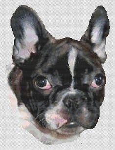 click here to view larger image of French Bulldog Puppy (chart)