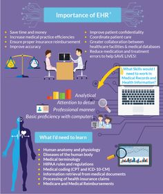 Are you interested in becoming a Health Information Technician? Electronic Health Records will play a large part in your day to day role. Learn more about the importance of Electronic Health Records by reading our infographic.