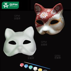 Pulp Crafts is the trustworthy source of paper mache mask for all the customers, we cater a variety of collection of paper mache mask for various events. Paper Mache Mask, Paper Mask, Paper Crafts, Diy Crafts, Origami, Mardi Gras, Masks, Create, Manualidades