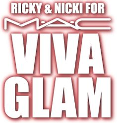 Ricky Martin and Nicki Minaj are supporting MAC's Fund for AIDS.  Every time you buy MAC's VIVA GLAM cosmetics, MAC donates all the money to the MAC AIDS fund!