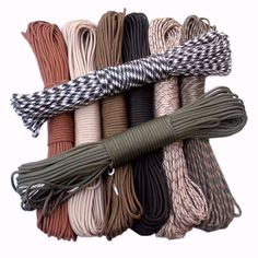 550 Paracord Parachute 7 Strand Type III Cord