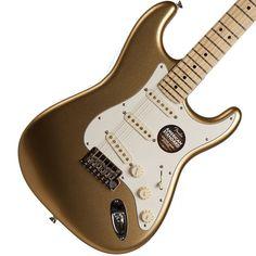 2014 Fender FSR American Standard Stratocaster Aztek Gold   Available at Garrett Park Guitars   www.gpguitars.com