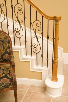 Dazzling Wrought Iron Balusters trend Houston Traditional Staircase Inspiration with Iron Balusters stair remodel wood handrail wood newels wrought iron balusters