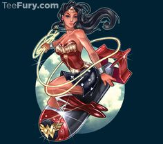 """WonderBomb"" by Tim Shumate is available. Get yours here: http://www.teefury.com/wonder-bomb/?utm_source=pinterest&utm_medium=referral&utm_content=wonderbomb&utm_campaign=bestof2014"
