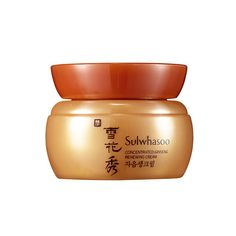Pronouncing the brand name is the only difficult aspect of this eye cream formulated by Sulwhasoo Skincare. Hydroponic Ginseng helps keep the delicate skin around your eyes looking young and cools down heat that causes dryness.Sulwhasoo Skincare Concentrated Ginseng Renewing Eye Cream, Aritaum USA