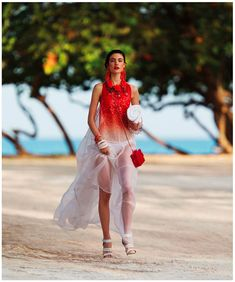 Jacquelyn Jablonski Dons Summer Style for Dujour Magazine by Hans Feurer | Fashion Gone Rogue: The Latest in Editorials and Campaigns