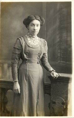 Vintage Real Photo Postcard of a Young Woman c. 1900s. £3.00, via Etsy.