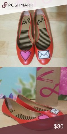 Dolce Vita DV 8 Flats Candy Apple Red sz.8.5 Dolce Vita DV 8 Flats Candy Apple Red sz.8.5 DV by Dolce Vita Shoes Flats & Loafers