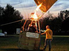 """Our maiden flight in the balloon"", Ferrara Baloon Festival by @maxmars70, via Flickr"