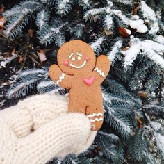 Holiday | Christmas | Gingerbread Man | Winter | Snow