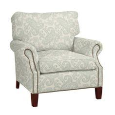 Ballard Designs chair  FABRIC: Corina Paisley Spa $895.00