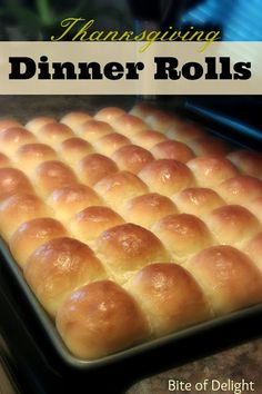 Dinner Rolls that are light, fluffy, delicious and buttery!  Perfect for Thanksgiving!