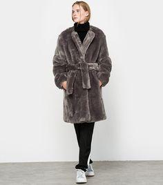 Louis-Gabriel Nouchi x La Redoute Madame Faux Fur coat