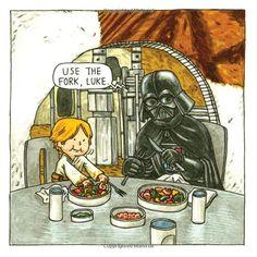 Darth Vader and Son 2014 Wall Calendar (Star Wars) Star Wars Jokes, Star Wars Comics, Star Wars Art, Darth Vader Y Su Hijo, Darth Vader And Son, Legos, Calvin And Hobbes Comics, Star War 3, Geek Girls