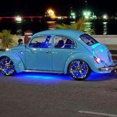 Néon blue