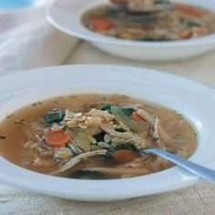 Chicken & Orzo Soup: Recipe by Williams Sonoma