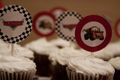 "Stylish Childrens Parties: ""Cars"" Movie -Inspired Birthday Party"
