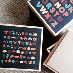 Cardboard boxes for Number 1 by Green Lullaby - NEW POST BLOG > www.mumisnotcooking.com #kids #kidsroom #playroom #green #lullaby #cardboard #boxe #playroom #kidsactivities #carton #rangement #boites #enfants