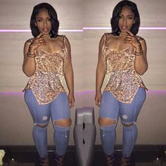 Pretty style for curvy girls Fashion Killa, Girl Fashion, Fashion Looks, Womens Fashion, Fashion Trends, Aeropostale, Summer Outfits, Cute Outfits, Nordstrom