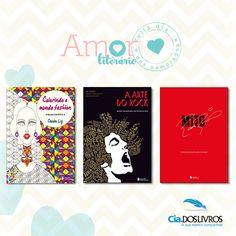 """Seu amor merece um livro da Companhia Editora Nacional. Visite a vitrine e garanta """"aquele abraço"""" no Dia dos Namorados. Vem!"""
