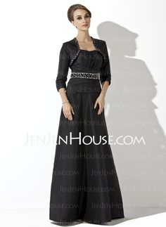 Mother of the Bride Dresses - $147.69 - A-Line/Princess Sweetheart Floor-Length Taffeta Mother of the Bride Dresses With Ruffle  Beading (008006092) http://jenjenhouse.com/A-line-Princess-Sweetheart-Floor-length-Taffeta-Mother-Of-The-Bride-Dresses-With-Ruffle--Beading-008006092-g6092