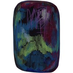 SCRIBBLE BLACK GREEN BLUE RUG - Moooi - Designed by Front