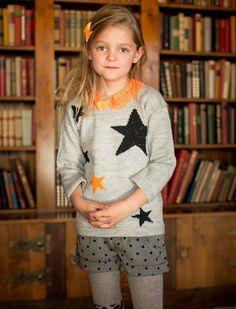 Strik en sej bluse med stjerner | Femina