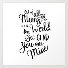 Mom Handlettering Quote Art Print by Acuarela – X-Small - Gave Ideer Mum Quotes From Daughter, Cute Mothers Day Quotes, Mothers Day Gifts From Daughter Diy, Cute Mothers Day Gifts, Mom Poems, Mothers Day Poems, Mother Quotes, Mom Quotes, Happy Mothers Day
