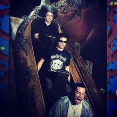 """grungebook: """"Buzz Osborne (Melvins/Fantômas), Adam Jones (Tool) and Mike Patton (Faith No More/Fantômas) """""""