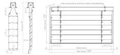 vonkajšie žalúzie LOMAX S3 Line Chart, Bar Chart, Diagram, Bar Graphs