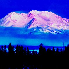 Mount Shasta  Mount Shasta is a most majestic mountain, part of the Cascade Mountain Range, located in Siskiyou County in Northern California about 45 miles from the Oregon border. Mount Shasta is the cone of an extinct volcano rising to a height of over 14,162 feet above sea level, and is one of the largest volcanic peaks in the continental United States.