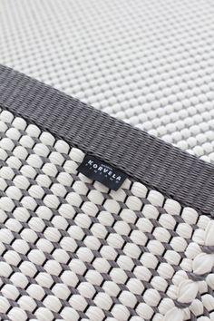 Hanna Korvela Duetto4 rug Floor Patterns, Textile Patterns, Interior Rugs, Weaving Textiles, Carpet Design, Loom Weaving, Woven Rug, Rug Making, Floor Rugs