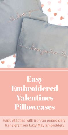Wedding Embroidery, Iron On Embroidery, Baby Embroidery, Simple Embroidery, Embroidery Transfers, Christmas Embroidery, Hand Embroidery Projects, Embroidery Supplies, Embroidery For Beginners
