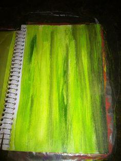 Acrylic Art Journal Backgrounds | Blog.KitsKorner.Com
