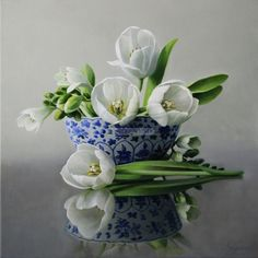 pieter wagemans | Pieter Wagemans - Flower Paintings | Panter & Hall