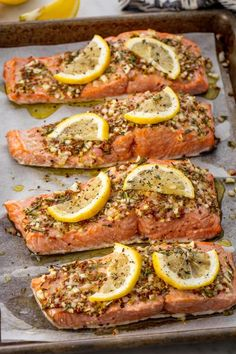 Perfect Broiled Salmon An extremely addicting and easy salmon recipe for your arsenal.Get the recipe from Delish. Easy Salmon Recipes, Fish Recipes, Seafood Recipes, Paleo Recipes, Low Carb Recipes, Cooking Recipes, Seafood Meals, Grilled Recipes, Seafood Boil