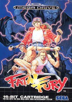 Fatal Fury - Mega Drive