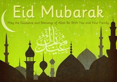 Eid Mubarak poster celebrating the Muslim festivals of Eid ul-Adha and Eid ul-Fitr. Eid Mubarak Photo, Eid Mubarak Images, Happy Eid Mubarak, Eid Ul Azha, Wallpaper Pictures, Ramadan, Pray, Eid Ideas, Islam
