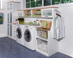 Laundry room in garage ideas~~ @Jenai May May May May ~~ That's a really nice setup! Lots to take note of.........