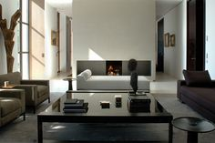Sophisticated Monochrome Living Room