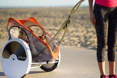 The jogging stroller that totes your tot behind