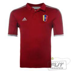 Camisa Adidas Venezuela Home 2014 - Fut Fanatics - Compre Camisas de Futebol Originais Dos Melhores Times do Brasil e Europa - Futfanatics