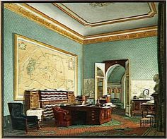 Visite du Palais des Tuileries vers 1865