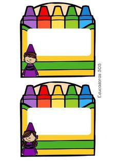 Preschool Education, Preschool Classroom, Teaching Kids, Kindergarten, Classroom Labels, Classroom Themes, Infant Classroom, School Labels, Toddler Art Projects