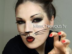 Cat, costume , make up